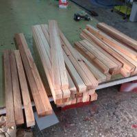 木枠看板の材料